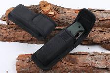 "NEW US Nylon Sheath Black For Pocket Folding Knife Up to 4.72"" Pouch Case Gift"