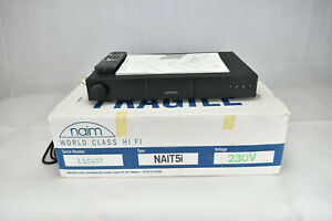 Naim Audio Integrated Amplifier Nait 5i. Original box, complete & Tested.