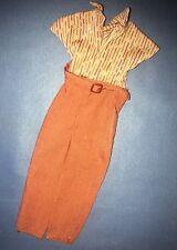 Mattel 1981 Barbie Ken Doll Fashion Collectibles #1933 Brown Jumpsuit Tricot Top