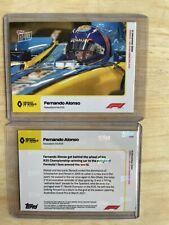 2020 Topps Now Formula One Fernando Alonso F1 Renault R25 Tribute Card Abu Dhabi