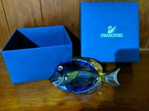 Swarovski Blue Tang Crystal Figure