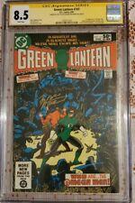 Green Lantern #141 CGC 8.5 Sign 2X Marv Wolfman Joe Staton 1st App Omega Men!