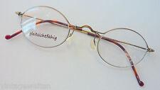 Pro Design Tao Simple extra kleine Brille im Antiklook 41-28 fast rund size S