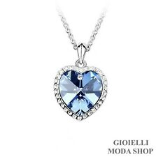 Collana Donna Ciondolo Cuore con Crystal Swarovski Elements - G159