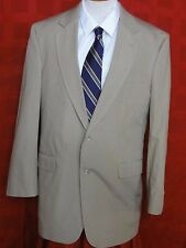 Men's Jos. A. Bank Tan Cotton/Polyester Blend Two Button Suit Size 40R