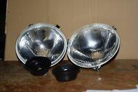 2 optiques  phare montage marchal peugeot  403  404  montage cibié h4  21530010