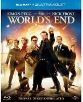 The Worlds End [Blu-ray] [DVD][Region 2]