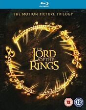 THE LORD OF THE RINGS - TRILOGY (3 DISC) - BLU-RAY - REGION B UK