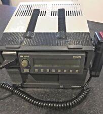 Philips FM1000 Series SU022 Radio Transceiver with PRX10 Power Supply + Mic