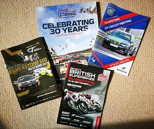 2021 Silverstone Programmes - British GP, Classic, MG, Superbikes, BTCC - NEW