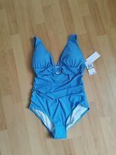 BNWT Michael Kors CRUISE 2020 aqua blue Swimsuit tummy control Size 12/14 bnwt