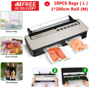 Commercial Vacuum Sealer Machine Automatic Food Saver System Storage Dry & Moist