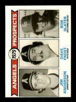 1979 Topps #703 Jim Anderson/Dave Frost/Bob Slater NM/NM+ RC Rookie Angels Angel