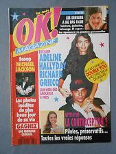 ► OK N°877 - ADELINE HALLYDAY - MICHAEL JACKSON - DOUBLE YOU - HUEY LEWIS