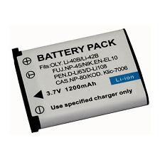 1200mAh Battery for Fujifilm NP-45 NP45 FinePix Z100fd Z1010EXR XP60 XP70 XP80