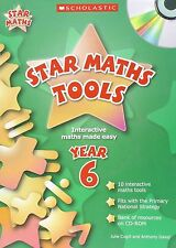 Scholastic YEAR 6 STAR MATHS PUZZLES & PROBLEMS with CD - STAR MATHS