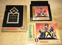 1987 GAUNTLET Adventure Game Nintendo NES w/Sleeve, Manual SHOWN Working! TENGEN