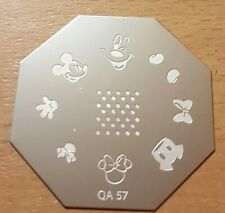 Stempelschablone Mickey Mouse  Stamping Plate Disney NailArt Stempel Schablone