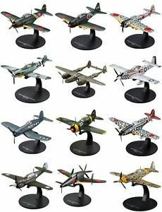 WW2 Aircraft, German, British, American, Japaneese, 1/72 Scale (Arrived)