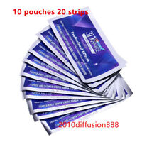 3D White Professional Effects Whitestrips (10 pouches/20 strips)