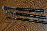 3 Beaugachis Brushes~1 Eyebrow Brush & 2 Eye Shadow Brushes