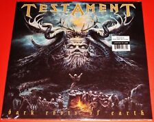 Testament: Dark Roots Of Earth - Limited Edition 2 LP Blue Color Vinyl 2012 NEW