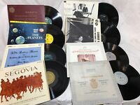 "25+ Classical 12"" 10"" LP Vinyl Records Lot Archiv DGG RCA Red VOX Decca Capitol"
