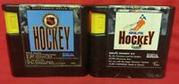 NHL Hockey 92 + 93 NHLPA EA Sports Sega Genesis Working + Tested - 2 Game Lot
