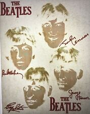 The Beatles 70s 80s, vintage retro tshirt transfer print new, NOS