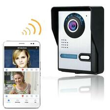 Wireless WiFi Remote Video Door Phone Doorbell Monitor Night Vision Waterproof