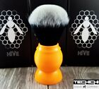 The Tech Hive Synthetic Tuxedo Beehive 26mm Shaving Brush