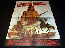 LE CONVOI SAUVAGE richard harris   affiche cinema western indiens