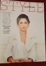 CHERYL TWEEDY. Times STYLE. EXCLUSIVE INTERVIEW. 11.11.18. UK CELEBRITY magazine