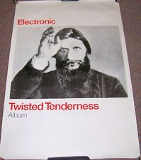 "NEW ORDER SMITHS ELECTRONIC REC COM PROMO POSTER ""TWISTED TENDERNESS"" ALBUM 1999"