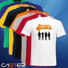 Camiseta naranja mecanica clockwork orange (ENVIO 24/48h)