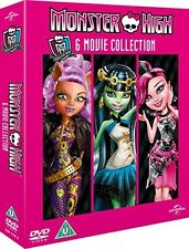 Monster High - 6 Movie Collection [DVD] [2014] New PAL Region 2