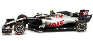 Minichamps 1:43 Haas VF-20 #50 FP1 Mick Schumacher Abu Dhabi GP F1 2020 1/900