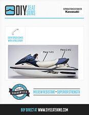 KAWASAKI STX DI 900 1100 12F 15F BLUE & GRAY Seat Skin Cover 00 01 02 06 07 08 +