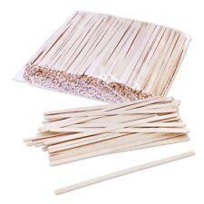 Solo Birch Wood Stirrers Coffee Stir Sticks C-10C, 7-Inch (1000 Count)