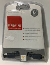 CyberPower 6-Pin to 4-Pin 6-Foot FireWire Cable ! New ! Sealed ! 🔥
