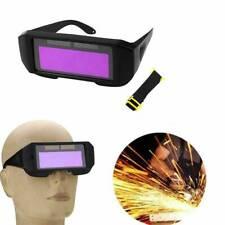 Welding Glasses Helmet Eyes Protect Welder Safety Solar Powered Auto Darkening
