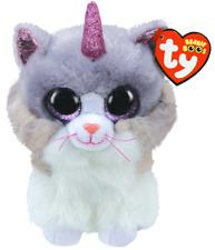 Ty Beanie Boos Medium Asher Cat With Horn