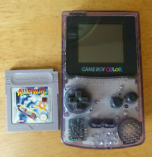 Nintendo Game Boy Color - Atomic Purple With Alleyway Game