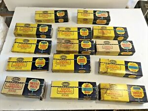 Vintage Aurora Model Motoring Track Lot 14 boxes 45 Pieces of Track