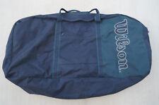 Wilson BLUE GREEN LARGE Duffle Bag Gym Tennis Tote Bag