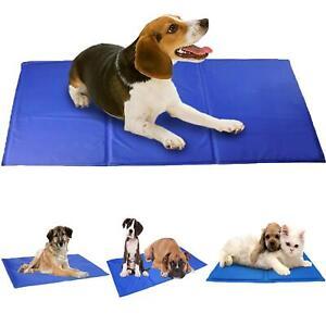 Pet Dog Cat Cool Mat Self Cooling Gel Pad Bed Mattress Heat Relief Non-Toxic