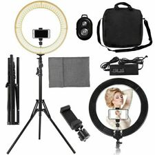 "19"" Led Ring Light w/ Stand Dimmable 2700-5500K Lighting Kit Photo Video Makeup"