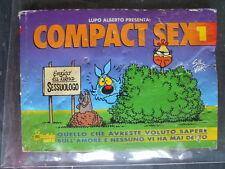 LUPO ALBERTO - Compact SEX n°1 ed. Macchia Nera [G327]