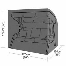 More details for heavy duty strong waterproof 3 seater garden swinging hammock cover zips & cord
