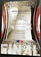 2011 FA CUP FINAL PROGRAMME - MANCHESTER CITY v STOKE CITY. MINT